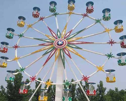fiberglass cabin ferris wheels supplier Beston