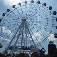 customized 42m sky wheel