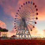 65 Meters Ferris Wheel for Sale in Kazakhstan