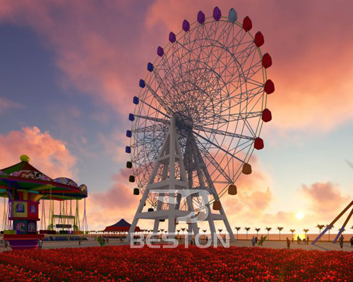 giant ferris wheel supplier